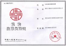 机构信用代码证(新)